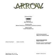 Arrow #3.21 Credits Announced, But No Title