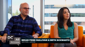 "DC All Access Exclusive Clip: Brian Ford Sullivan & Beth Schwartz Talk ""The Offer"""