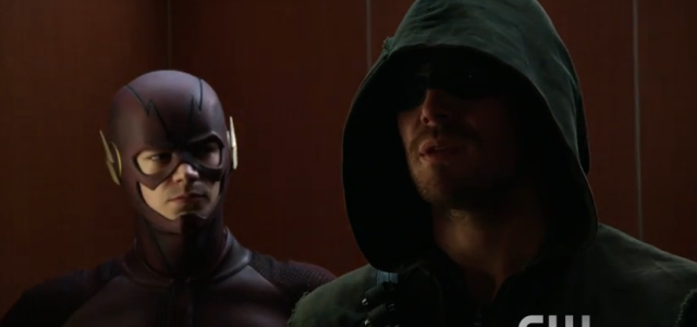 New Arrow & Flash Promo: Superhero Fight Club