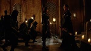 Nyssa and the New Ra's al Ghul