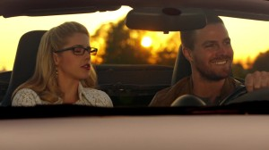 Oliver & Felicity Drive Away