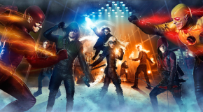 Superhero Fight Club Combined Photo: Heroes & Villains Assemble
