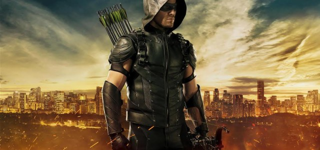 Stephen Amell Posts Photos Of An Old Arrow Ship & The Season 4 Suit