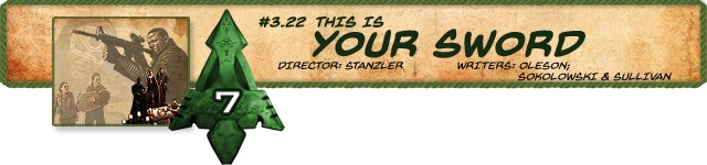 Countdown #7 - 322: 'This is Your Sword'