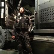 Arrow Director Tweets A Photo Of Rutina Wesley As Lady Cop
