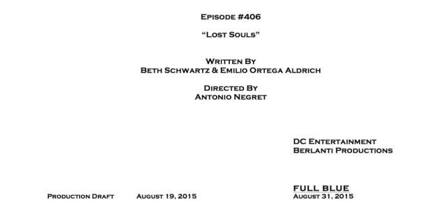 Arrow #4.6 Title & Credits Revealed!