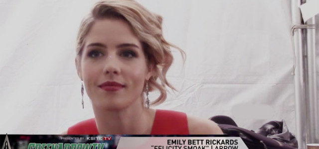 Arrow on Set: Emily Bett Rickards On Ray, The Death, & The Engagement Ring