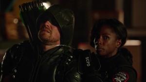 Liza Warner Captures Green Arrow