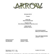 Arrow #4.15 Title & Credits Revealed