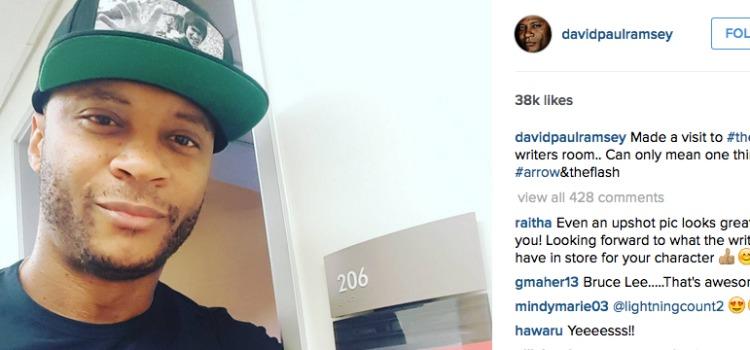 Is David Ramsey (John Diggle) Visiting The Flash?
