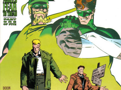 Season 5 Cover Countdown: Green Arrow #96