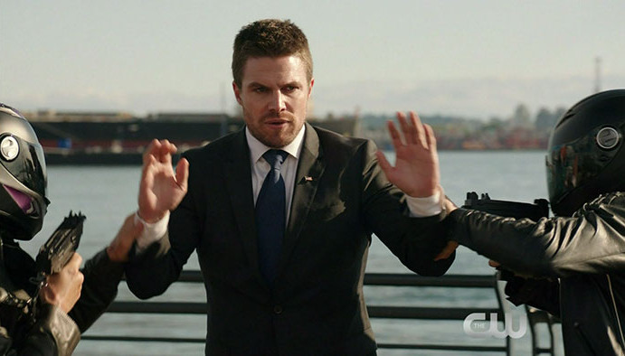 Arrow: Screencaps From A New Season 5 Promo Trailer