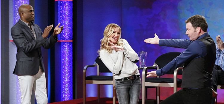 Photos of Katie Cassidy on Whose Line!