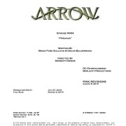 Arrow #5.4 Title & Credits Revealed