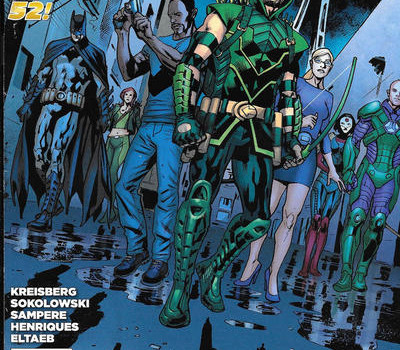 Season 5 Cover Countdown: Green Arrow #40