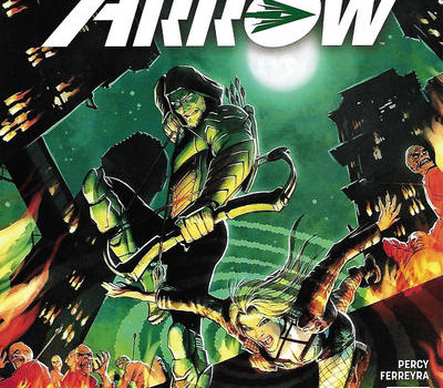 Season 5 Cover Countdown: Green Arrow #5