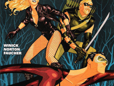 Season 5 Cover Countdown: Green Arrow/Black Canary #9
