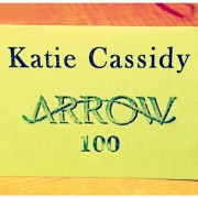 Katie Cassidy In Arrow Episode 100 Too?