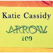 Katie Cassidy In Arrow Episode 100 Too?