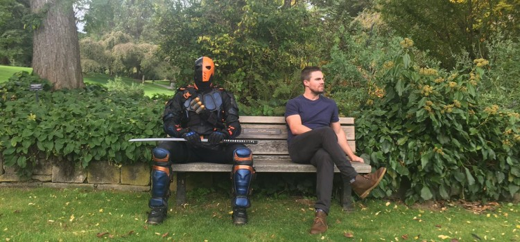 Stephen Amell Teases Caity Lotz & Deathstroke For Arrow Episode 100