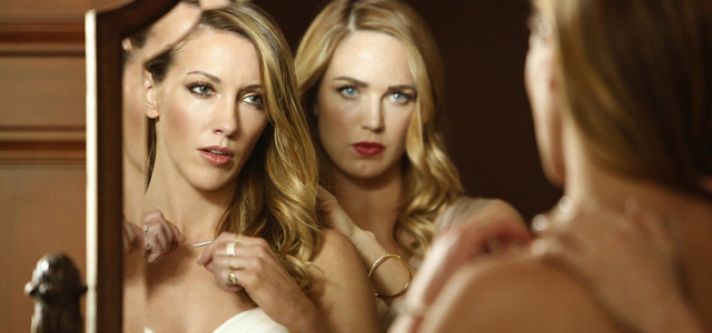Arrow Episode 100 Photos: Katie Cassidy, Susanna Thompson & A Wedding