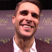 "Arrow Episode 100 Green Carpet: Josh Segarra Talks ""Vigilante"""