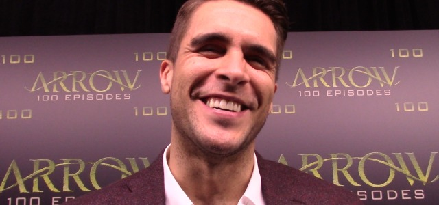 "Arrow Episode 100 Green Carpet: Josh Segarra Talks ""Vigilante"""