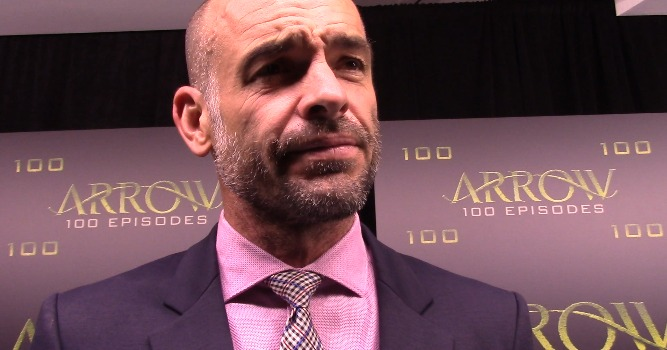 Arrow Episode 100 Green Carpet Interview: Paul Blackthorne