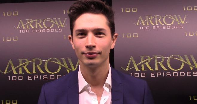 Ragman on the Arrow Episode 100 Green Carpet: Joe Dinicol