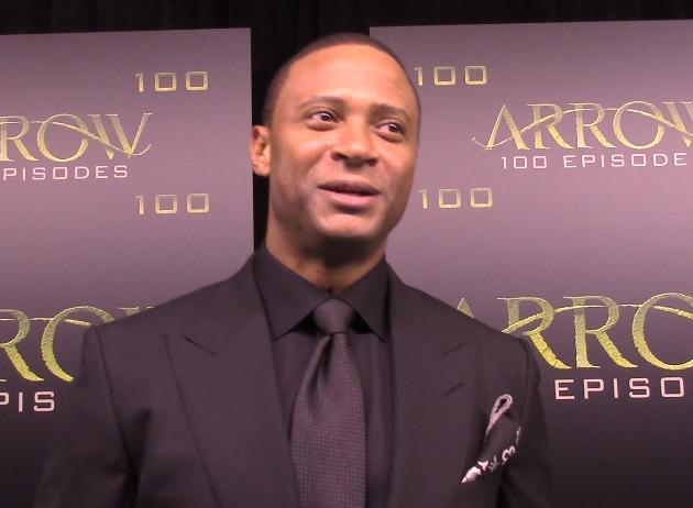 Arrow Episode 100 Green Carpet Interview: David Ramsey