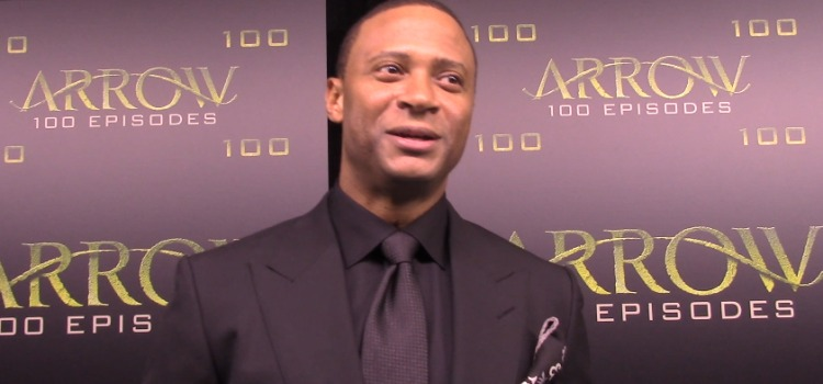 Arrow Episode 100 Green Carpet Interview: David Ramsey