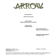 """Arrow #5.11 Title & Credits: Who's Having """"Second Chances?"""""""