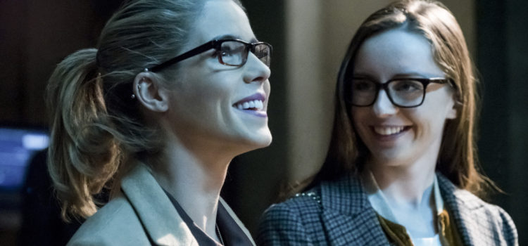 "Arrow @ PaleyFest: Wendy Mericle on Felicity, Thea & ""Honor Thy Fathers"""