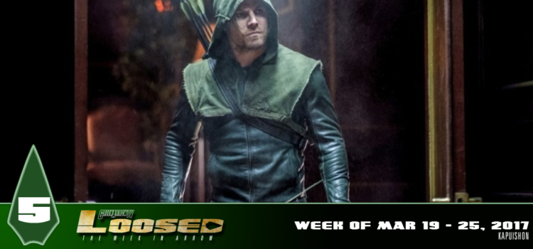 "GATV Loosed Ep. 5: Arrow ""Kapuishon"" Review & News Recap (Week of Mar 19-25, 2017)"