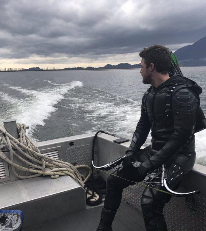 Stephen Amell Has Wrapped On Arrow Season 5