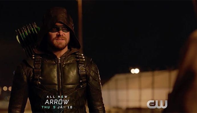 """Arrow: Screencaps From The """"Divided"""" Preview Trailer"""