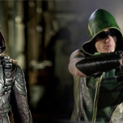 Arrow Crossover: Stephen Amell & Justin Hartley