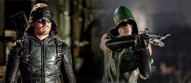 Arrow Crossover: Stephen Amell & Justin Hartley