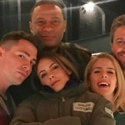 Photo: Old-School Team Arrow Reunited!