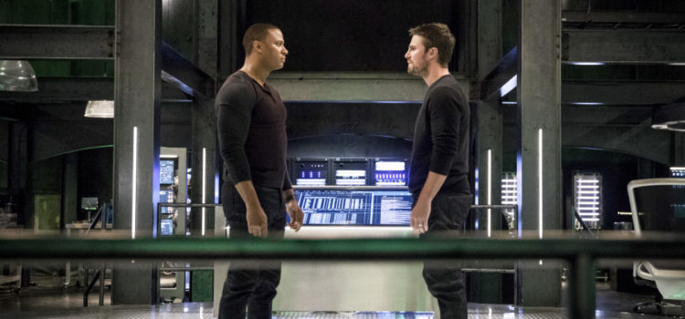 "Arrow Spoiler Photos: ""Brothers in Arms"""