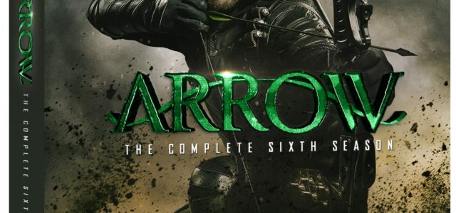 Arrow Season 6 Blu-Ray & DVD Details Revealed