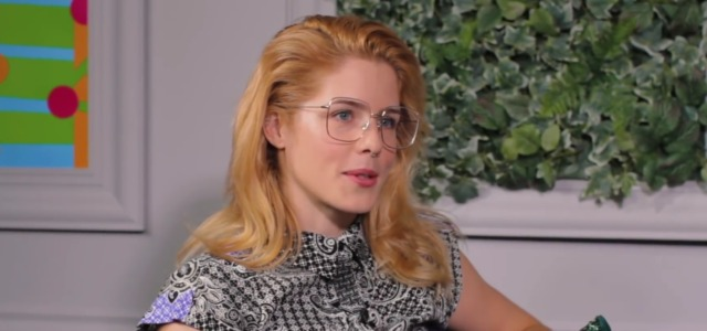 "Emily Bett Rickards Clarifies ""Olicity Baby"" Comments"