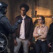 Diggle & Co. In New Arrow Season 7 Still