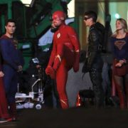 Here's Stephen Amell In The Flash Suit