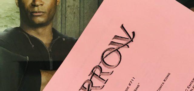 Arrow #7.11 Title Revealed – David Ramsey Directing