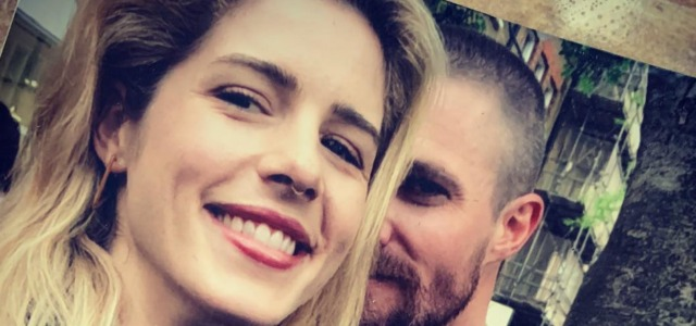 Stephen Amell Posts A Tribute To Emily Bett Rickards