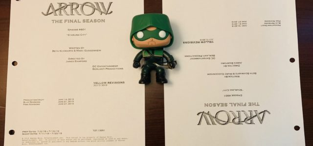 Arrow Season 8 Premiere Title & Credits Revealed