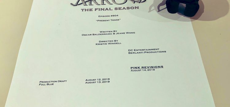 Arrow #8.4 Title & Credits Revealed