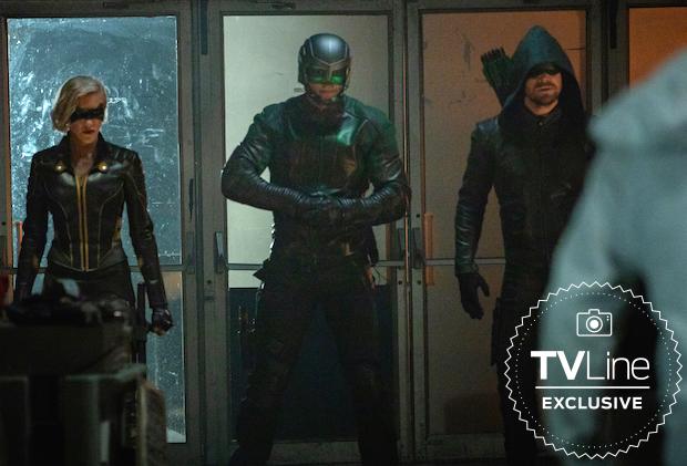 Arrow Season 8: Is This The New Team Arrow?