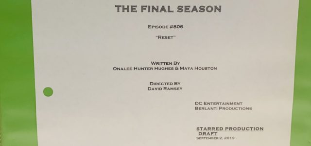 Arrow #8.6 Title & Credits Revealed: David Ramsey Directs